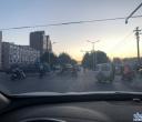上次反映双园大桥堵车,现在每天看到几个交警在执勤