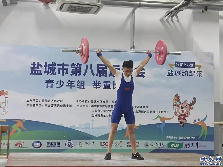 马万宝,男子青年组62kg级冠军,比赛中.jpg