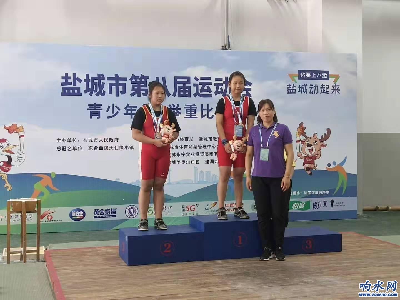 许妍,女子乙组56kg级冠军.jpg